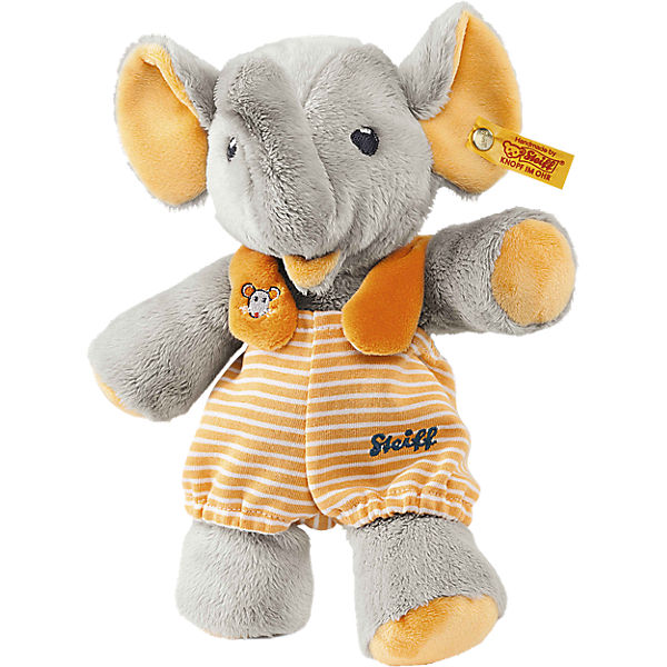 Steiff 240256 Trampili Elefant grau/orange 24 cm