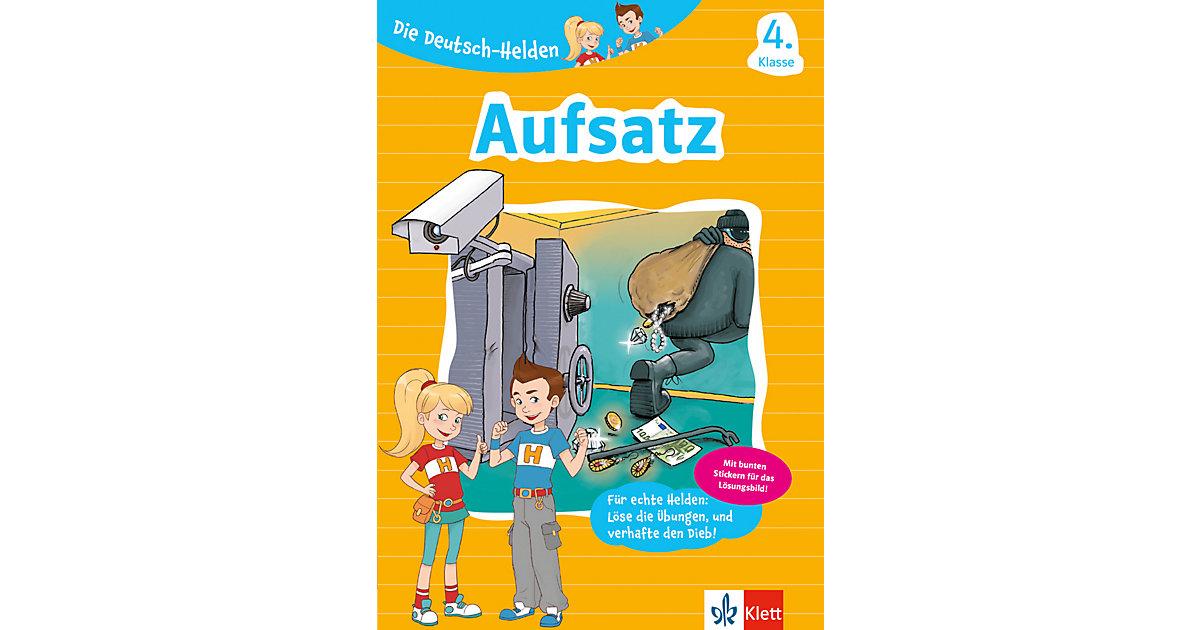 Buch - Die Deutsch-Helden - Aufsatz 4. Klasse