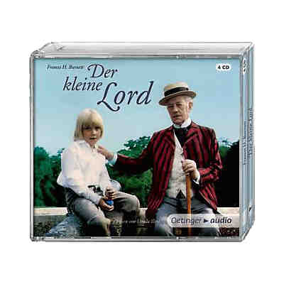 Der kleine Lord, 4 Audio-CDs