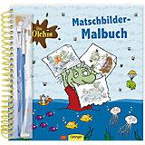 Die Olchis Matschbilder-Malbuch
