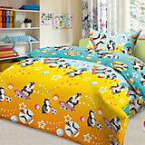 """Комплект """"Пингвины"""" 1,5-спальный (наволочка 50х70)"""
