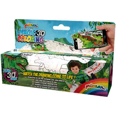 PRISMAR MAGIC 3D - Malrolle Dinosaurier