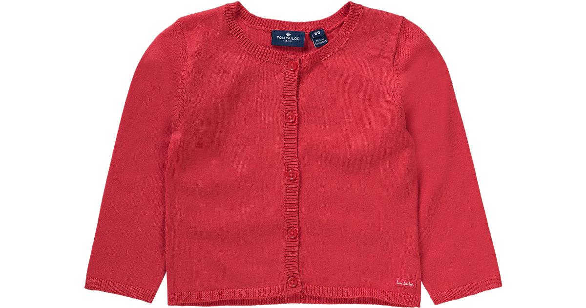 Baby Strickjacke rot Gr. 92 Mädchen Kleinkinder