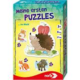 Meine ersten Puzzles - Waldtiere