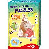 Meine ersten Puzzles - Haustiere