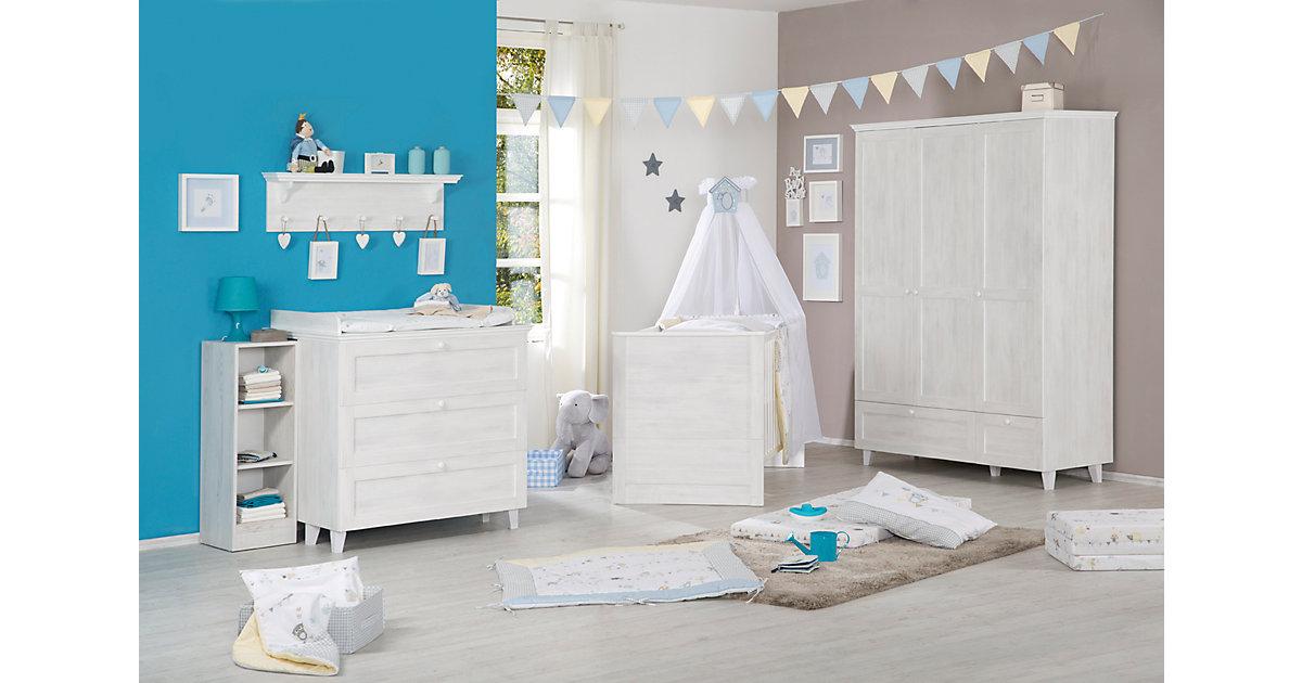 Kinderbett SARAH, North White, 70 x 140 cm weiß