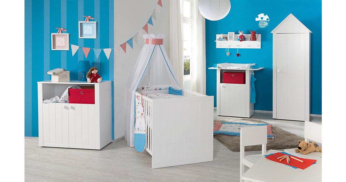 Kinderbett LOTTE, weiß, 70 x 140 cm