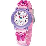 Armbanduhr für Mädchen Schmetterling