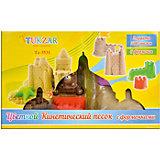 Цветной кинетический песок с формочками (2 упаковки по 500г)