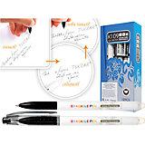 Черная гелевая ручка со стираемыми термочувствительными чернилами