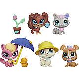 Мульти-набор зверюшек, Littlest Pet Shop, в ассортименте