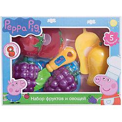 """Набор """"Фрукты и овощи"""", Свинка Пеппа"""