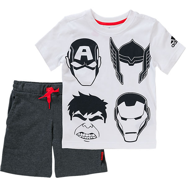 The Avengers Sommer Set: T-Shirt + Hose