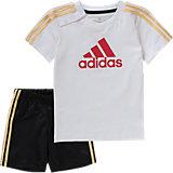 Baby Sommer County Set: T-Shirt + Shorts für Jungen