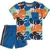 Baby Sommer Strand Set: T-Shirt + Shorts für Jungen