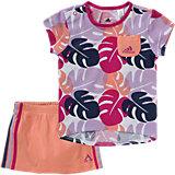Baby Sommer Strand Set: T-Shirt + Rock für Mädchen