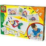 14848 Lernset Ich lerne Mosaike Steckspiel