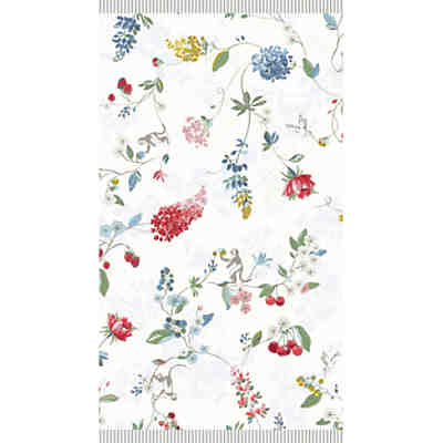 Strand- und Badetuch Hummingbirds, Star White, 70x140 cm