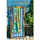 Strand- und Badetuch Floral Fantasy, Fair Green, 100x180 cm