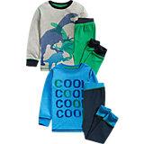NEXT Schlafanzug Doppelpack für Jungen