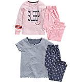 NEXT Schlafanzug Doppelpack für Mädchen