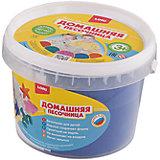 """Домашняя песочница """"Синий песок"""" 0,7 кг"""