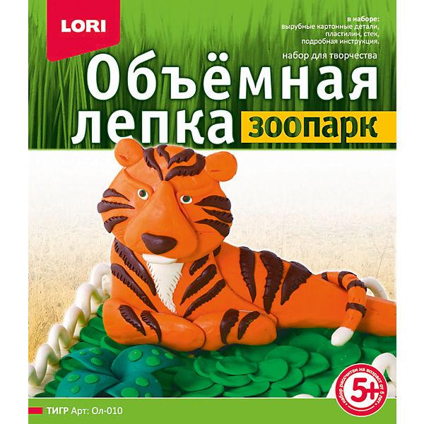 """Лепка объемная """"Тигр"""""""