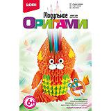 """Модульное оригами """"Рыжий котенок"""""""