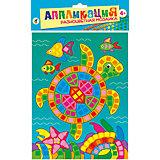 "Разноцветная мозаика мини ""Морская черепаха"""