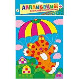 "Разноцветная мозаика мини ""Тигрёнок на парашюте"""