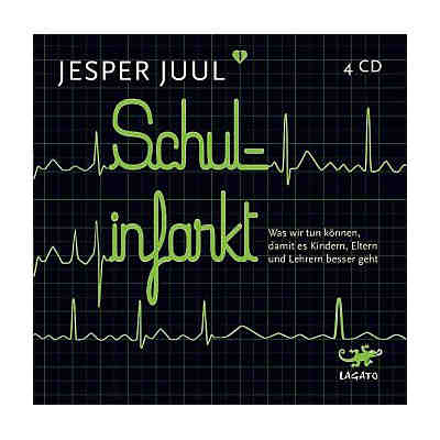 Schulinfarkt, 4 Audio-CDs
