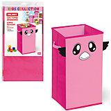Розовый короб для хранения 60*30*30 см