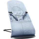 Кресло-шезлонг Balance Soft Air, BabyBjorn, голубой