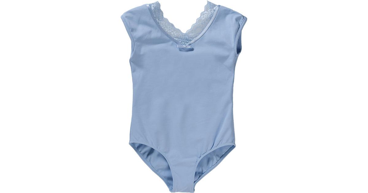 Ballett Body Mädchen blau Gr. 152 Kinder