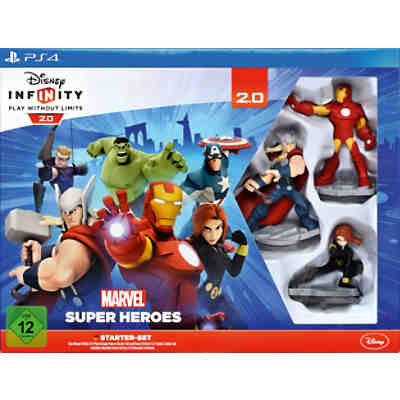 PS4 Disney Infinity 2.0 Marvel Super Heroes Starter Set