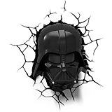 """Пробивной 3D светильник """"Дарт Вейдер"""", Звёздные Войны"""