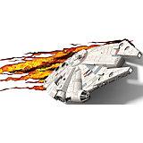 """Пробивной 3D светильник """"Тысячелетний сокол"""", Звёздные Войны"""