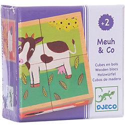Кубики «Ферма», DJECO