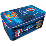 Adrenalyn EURO 2016 Trading Cards TIN DOSE