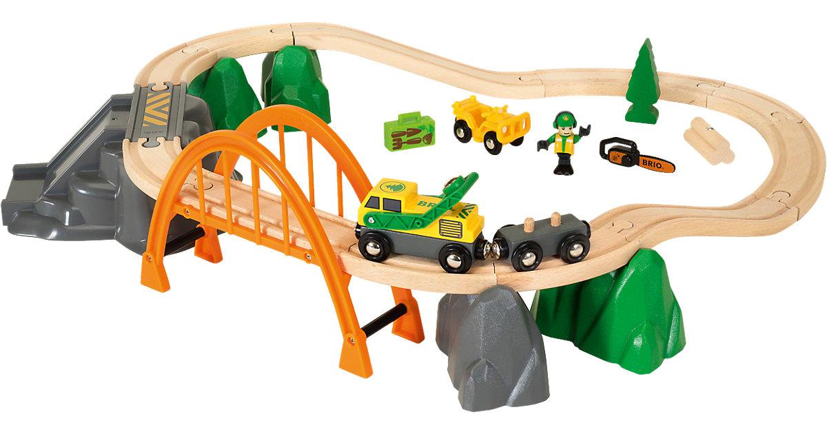 33789 Bahn Waldarbeiter-Set