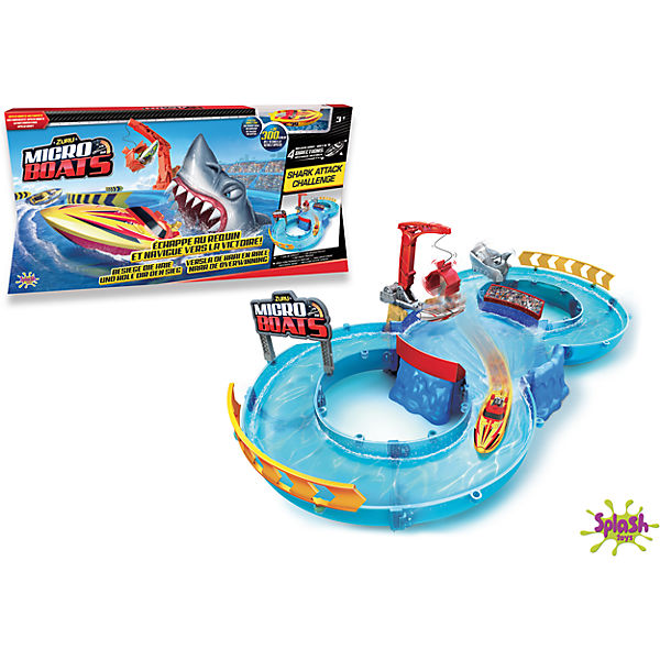 Micro Boat Playset