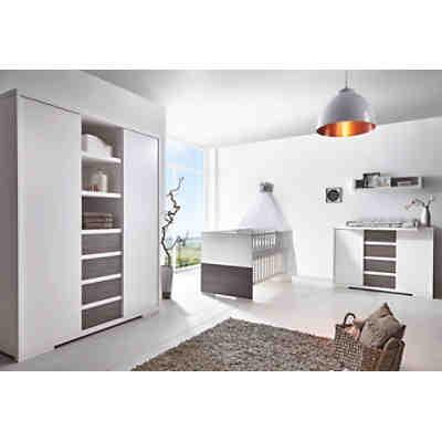 Komplett Kinderzimmer Maxx White (Kombi-Kinderbett 70 x 140 cm ...