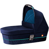 Kinderwagenaufsatz M, Sea Port Blue