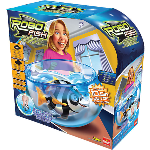 Robo Fish Tiefsee Playset