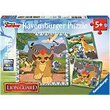 Puzzleset Lion Guard 3 x 49 Teile
