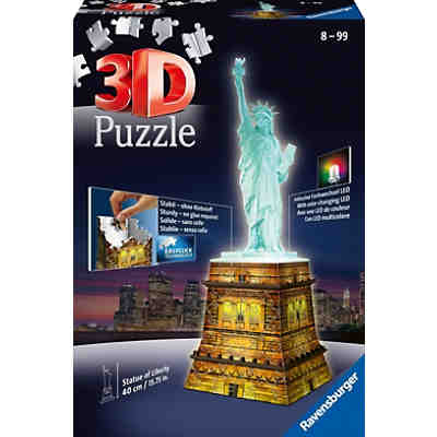 3d geb ude puzzle eiffelturm bei nacht 216 teile ravensburger mytoys. Black Bedroom Furniture Sets. Home Design Ideas