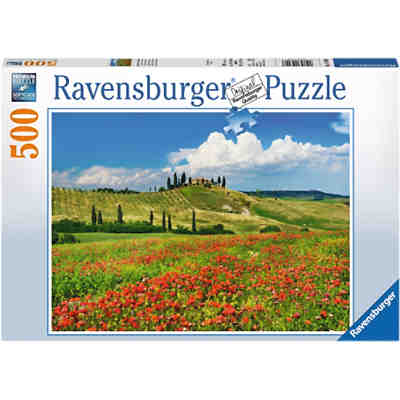 Puzzle Sommer in der Toskana 500 Teile