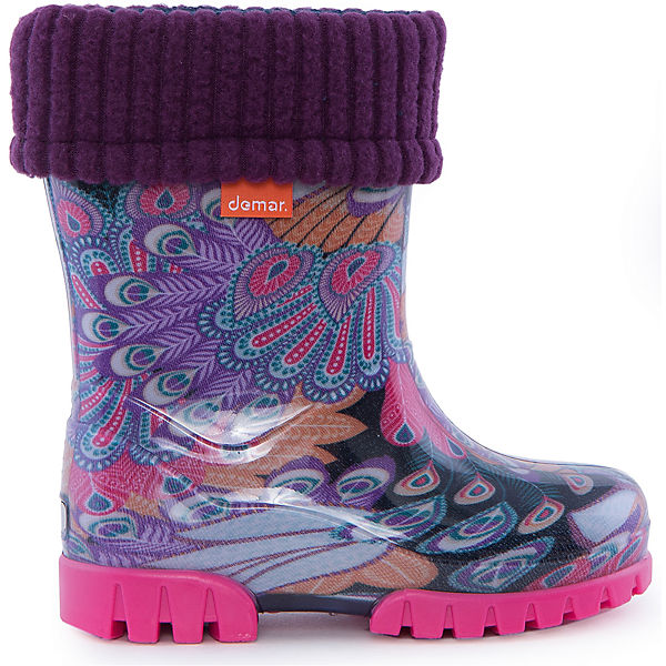 Резиновые сапоги Twister Lux Print для девочки DEMAR