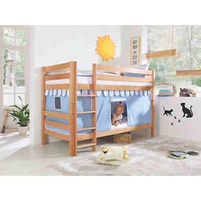 vorhangset f r spielbett inkl hakenband magnum beni und jan blau relita mytoys. Black Bedroom Furniture Sets. Home Design Ideas