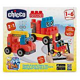 """Набор строительных блоков """"Машины"""", 20шт, CHICCO"""